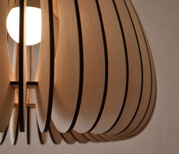 lampen van hout