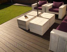 woodcomposiet vlonderplanken