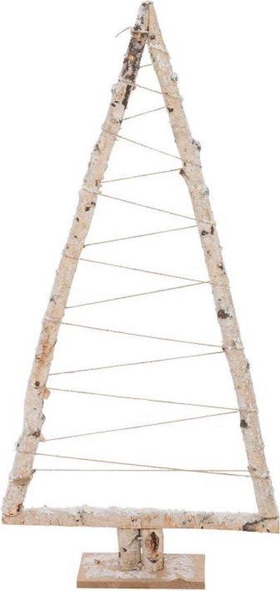 J-line kerstboom wit hout